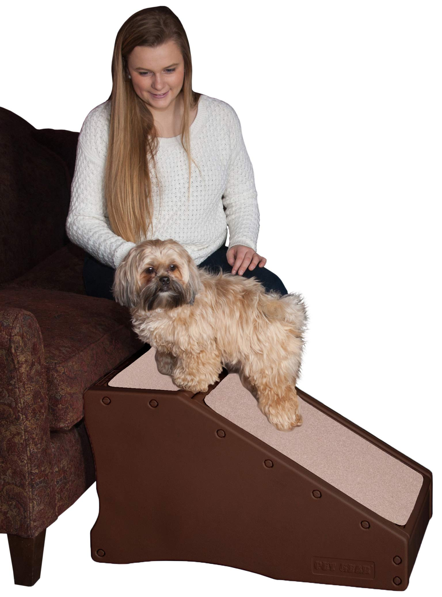 Pet Gear Step and Ramp Combination with supertraX by Pet Gear