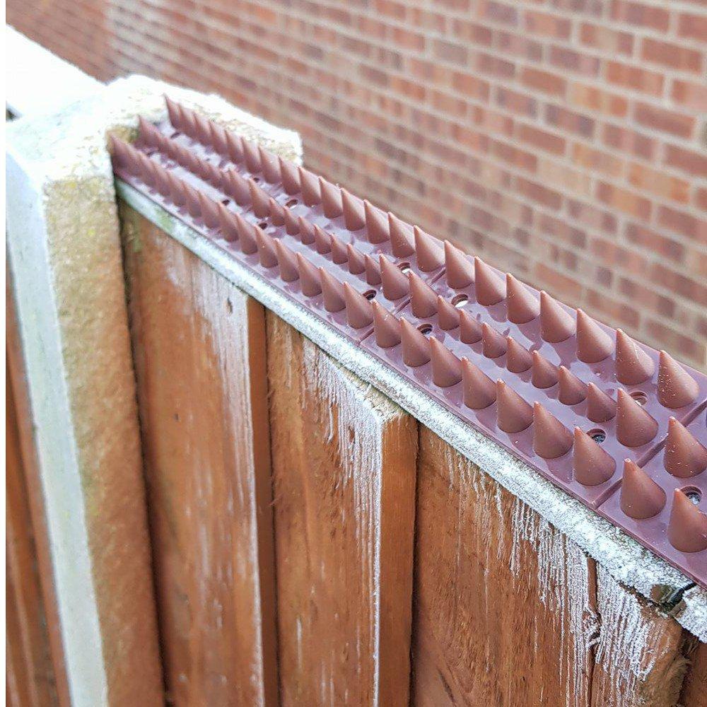 Pinchos para poner sobre las cercas del jardín de S4U, pinchos de seguridad antiescalada, para alejar intrusos como; ladrones, pájaros, gatos: Amazon.es: ...