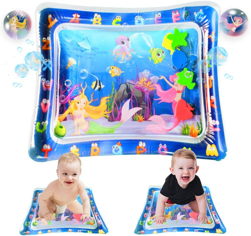Amazon Promo Code for Inflatable Tummy Time Baby Water Mat