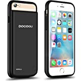 iphone 6 6s 7 8 Battery Case DOGIDOLI 5000 mAh Large Capacity Charger Case Portable Charging Case for Apple iPhone 6 6s 7 8 4.7 inch (Black)