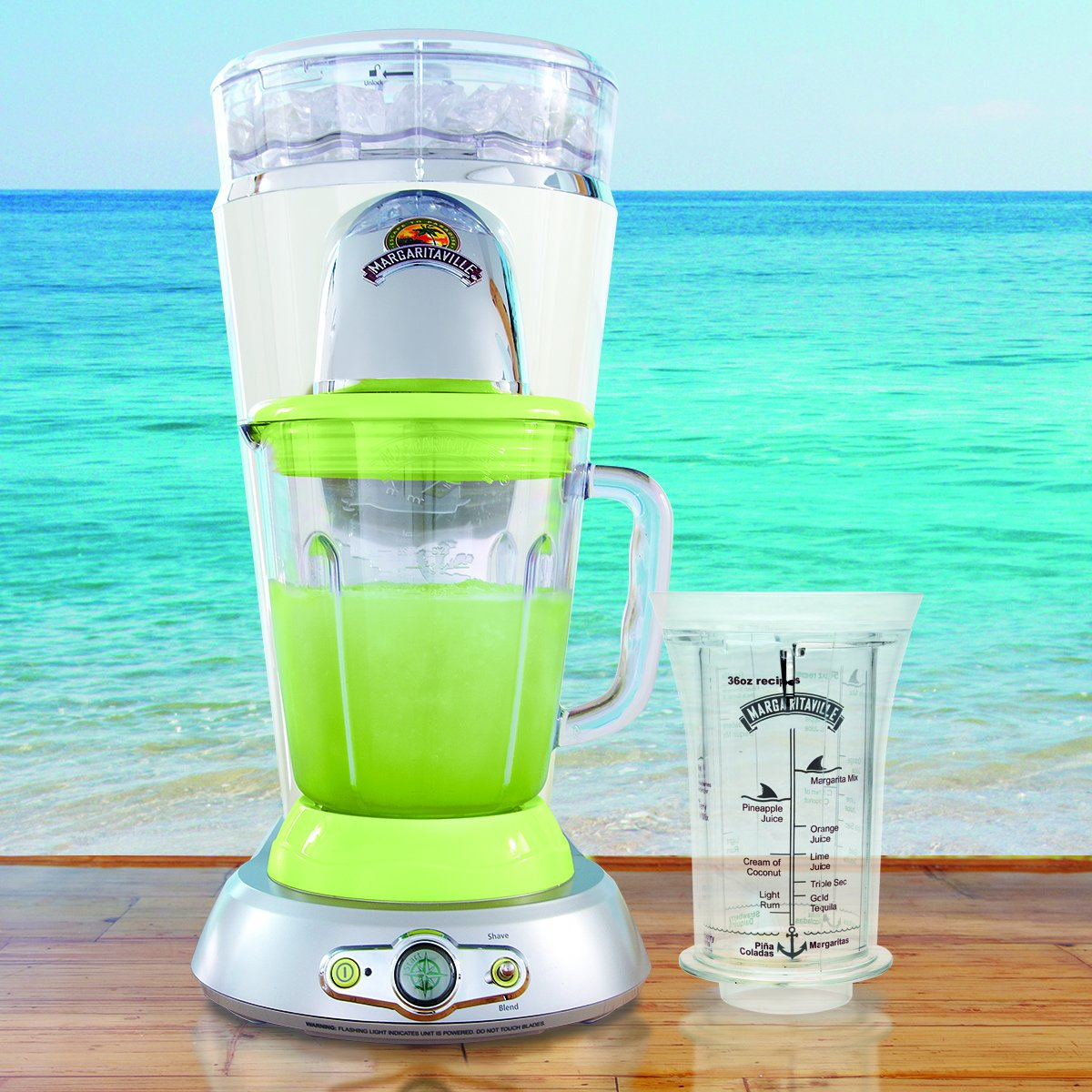 Margaritaville Bahamas Frozen Concoction Maker & No-Brainer Mixer by Margaritaville