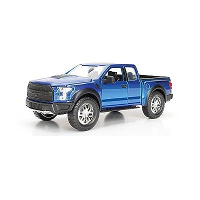 Jada 1:24 - Just Trucks - 2020 Ford F-150 Raptor (Blue): Toys & Games