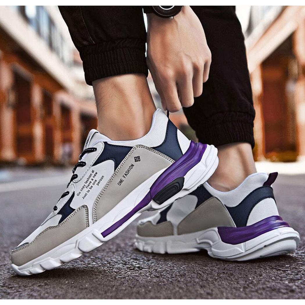 ZIXUAP Männer Laufen Turnschuhe Ultra Leichtbauschuhe Breathable Fashion Casual Athletic Athletic Athletic schuhe für den Spaziergang  67fd67