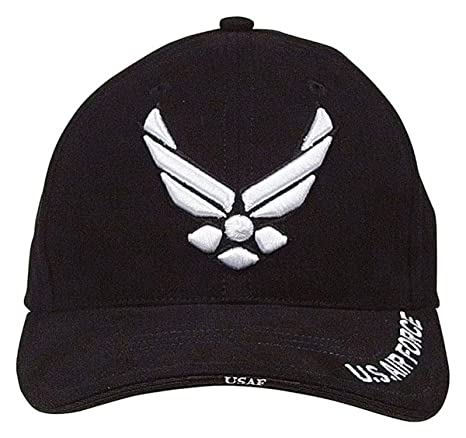 4e0ebb95ed86c Image Unavailable. Image not available for. Color  Rothco USAF Wing Deluxe  Low Profile Cap ...