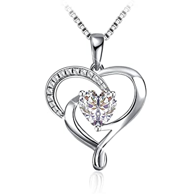 Necklace valentines day gift with exquisite package 925 sterling necklace valentines day gift with exquisite package 925 sterling silver pendant necklace jse aloadofball Images