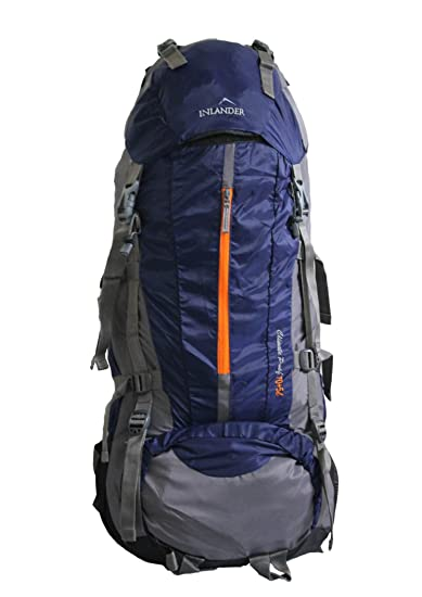 Inlander 70 Ltrs Navy Blue Rucksack (1009-1)  Amazon.in  Bags, Wallets    Luggage 309f25051e