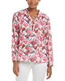 Macbeth Womens Collection Floral Top