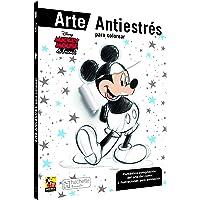 Mickey and Friends arte antiestrés