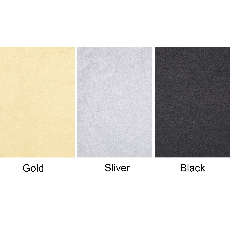 Norme 60 Fogli Carta Velina per Laurea Carta da Regalo Avvolgente per Rifornimenti Decorativi di Graduazione 3 Colori