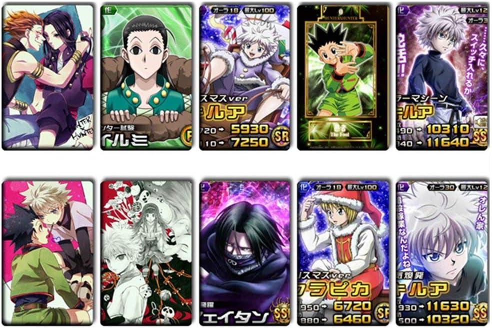 RedCherry Anime Hunter X Hunter Manga Photo Photo Poster Lomo Carte Cadeau Cristal Stickers Lot de 10 H05