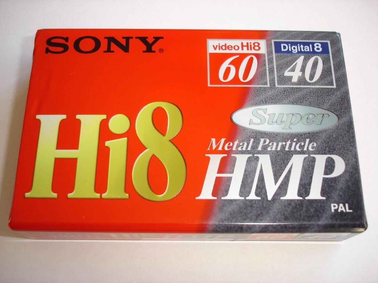 Sony P560HMP - Cinta Hi-8 virgen (tamaño de cinta: 8 mm, 60 minutos): Amazon.es: Electrónica