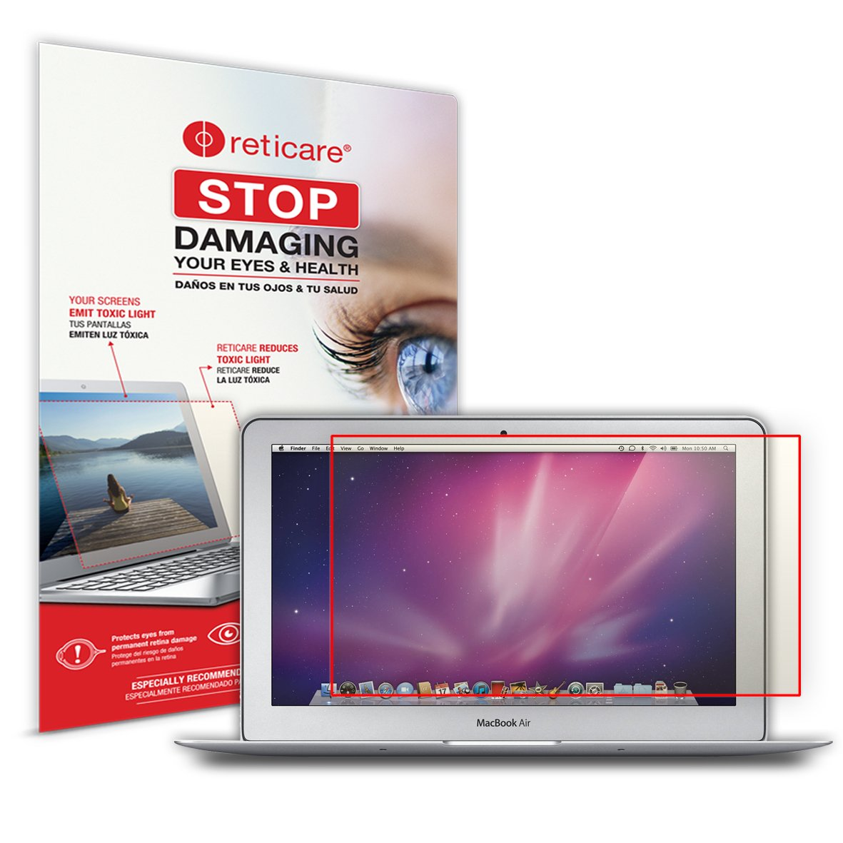 Protector de Ojos Compatible con MacBook Air de 11.6 Intensive Reticare 352L-9604-B