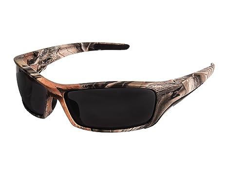 Amazon.com : Edge Eyewear Reclus Sunglasses, Forest Camo Frame ...
