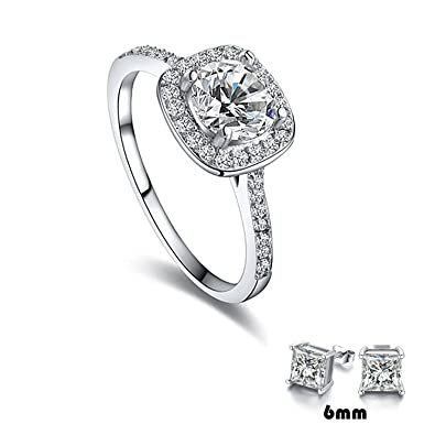 rings for couples platinum ring jewellery two diamond layered