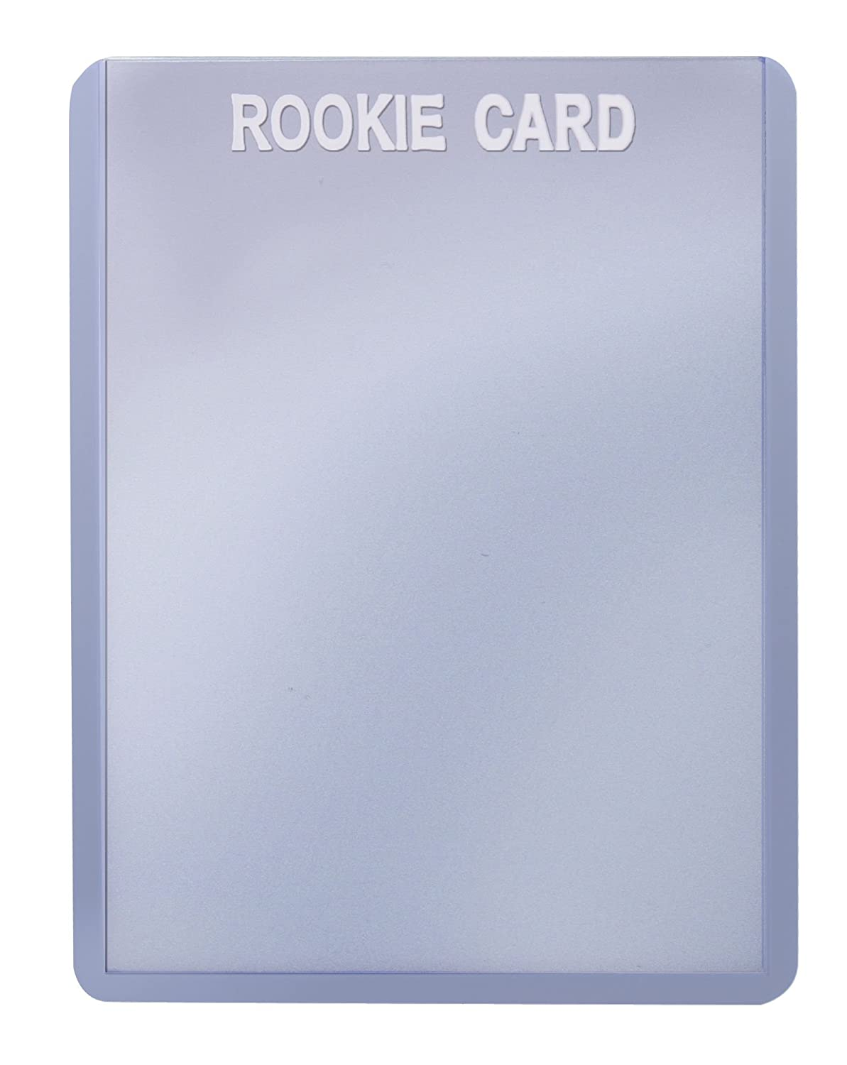 """Ultra PRO 3"""" x 4"""" Toploader with White Foiled""""Rookie"""" Card Holder (25 per pack) SFTL3040RW"""