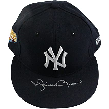 d6ba131c669ec Mariano Rivera Signed New York Yankees Authentic Hat w  2009 WS Patch
