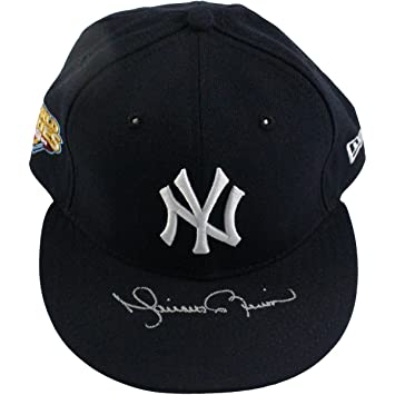 f186c408399 Mariano Rivera Signed New York Yankees Authentic Hat w  2009 WS Patch