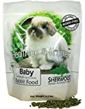 Rabbit Food Baby by Sherwood Pet Health 4.5 lb. - (Soy Corn & Wheat-Free) - 4.5 lb. (Vet Used)