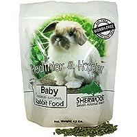 Rabbit Food Baby by Sherwood Pet Health 4.5 lb. - (Soy Corn & Wheat-Free) - 4.5 lb. (Vet Used)
