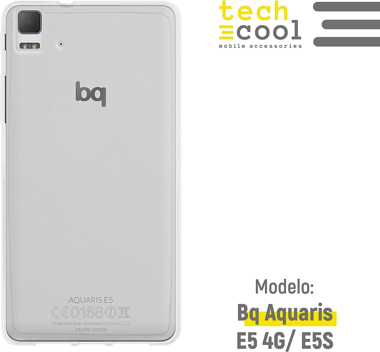 Funnytech® Funda Transparente para BQ Aquaris E5 4G / E5S [Gel ...