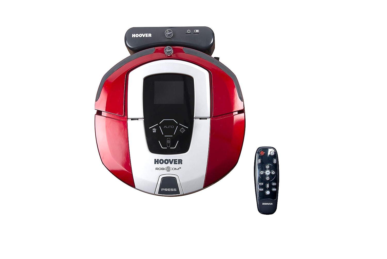 Hoover RBC040 - Robot aspirador con filtro HEPA, hasta 90 mins. de autonomía, programable semanal, color rojo metálico: Hoover: Amazon.es: Hogar