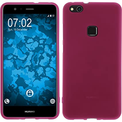 wholesale dealer ad28a ae4ba Amazon.com: PhoneNatic Silicone Case for Huawei P10 Lite matt hot ...