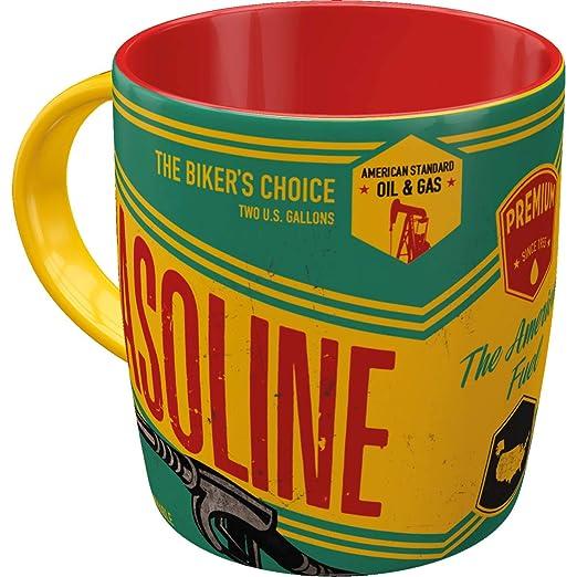 Nostalgic Art Tasse Nostalgie Gasoline Kaffeetasse Trinkbecher Mug