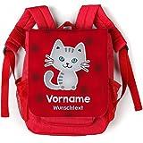 Striefchen® Kinderrucksack für Kita - Kätzchen - mit Namen und Gruppe des Kindes