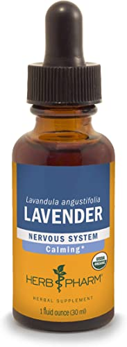 Herb Pharm Certified Organic Lavender Flower Liquid Extract