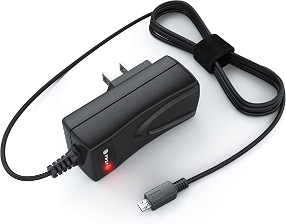 Extra Long 6.5Ft AC Adapter Charger Cord for Asus Transformer Book T100 Memo Pad