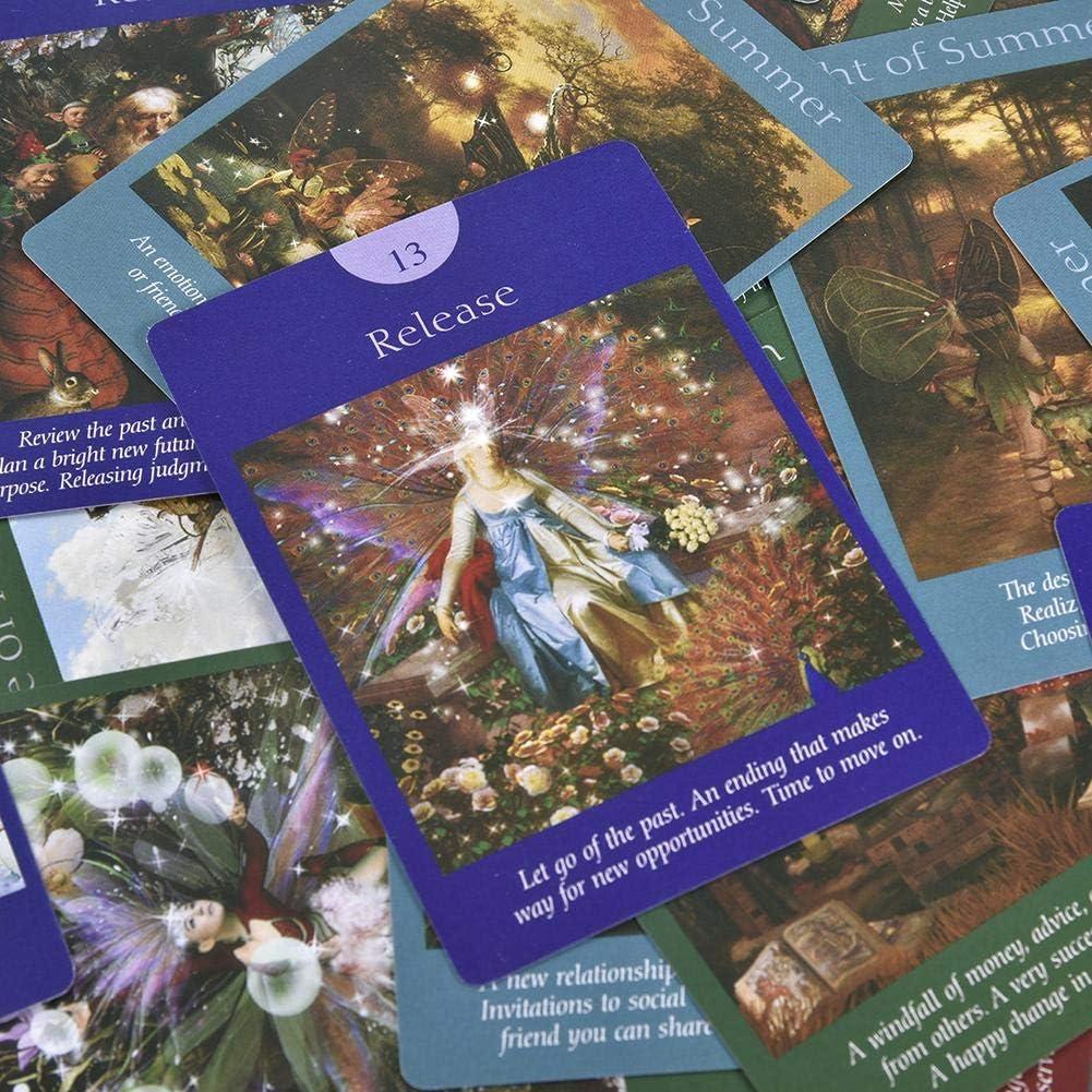 Cartas Del Tarot Las Cartas Del Tarot De Hadas: Un Nuevo Libro De Cartas |