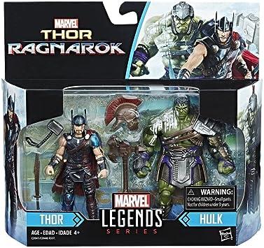Marvel Legends Thor Movie - Fig 10 cm - Pack de 2- THOR RAGNAROK ...