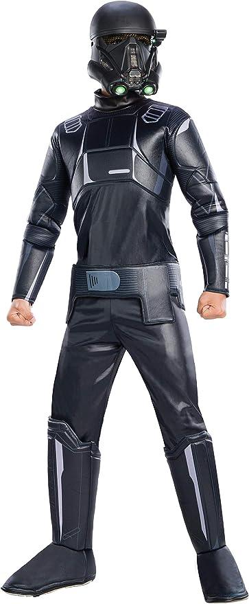 Disney Store Imperial Death Trooper Star Wars Costume Boy Halloween Stormtrooper