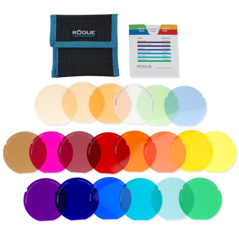 ExpoImaging ROGUEGELS-G Rogue Photographic Design Rogue Gels - Lighting Filter Kit for Rogue Grid by Rogue Photographic Design (Image #1)