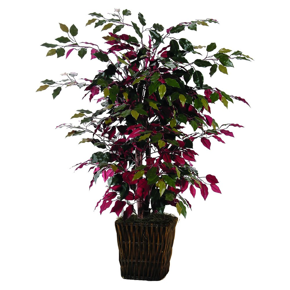 Vickerman 4' Artificial Campania Bush in Square Willow by Vickerman