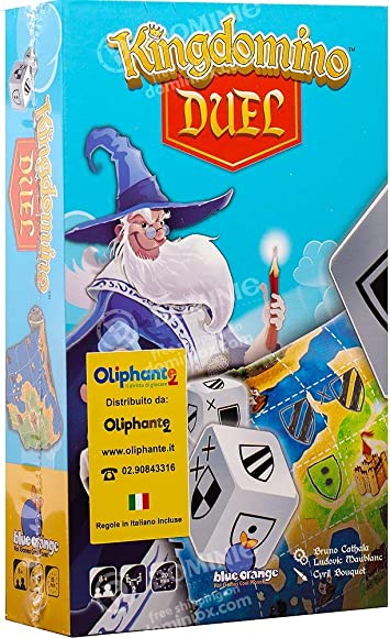 Blue Orange Kingdomino Duel - Juego de Mesa [Castellano]: Amazon ...