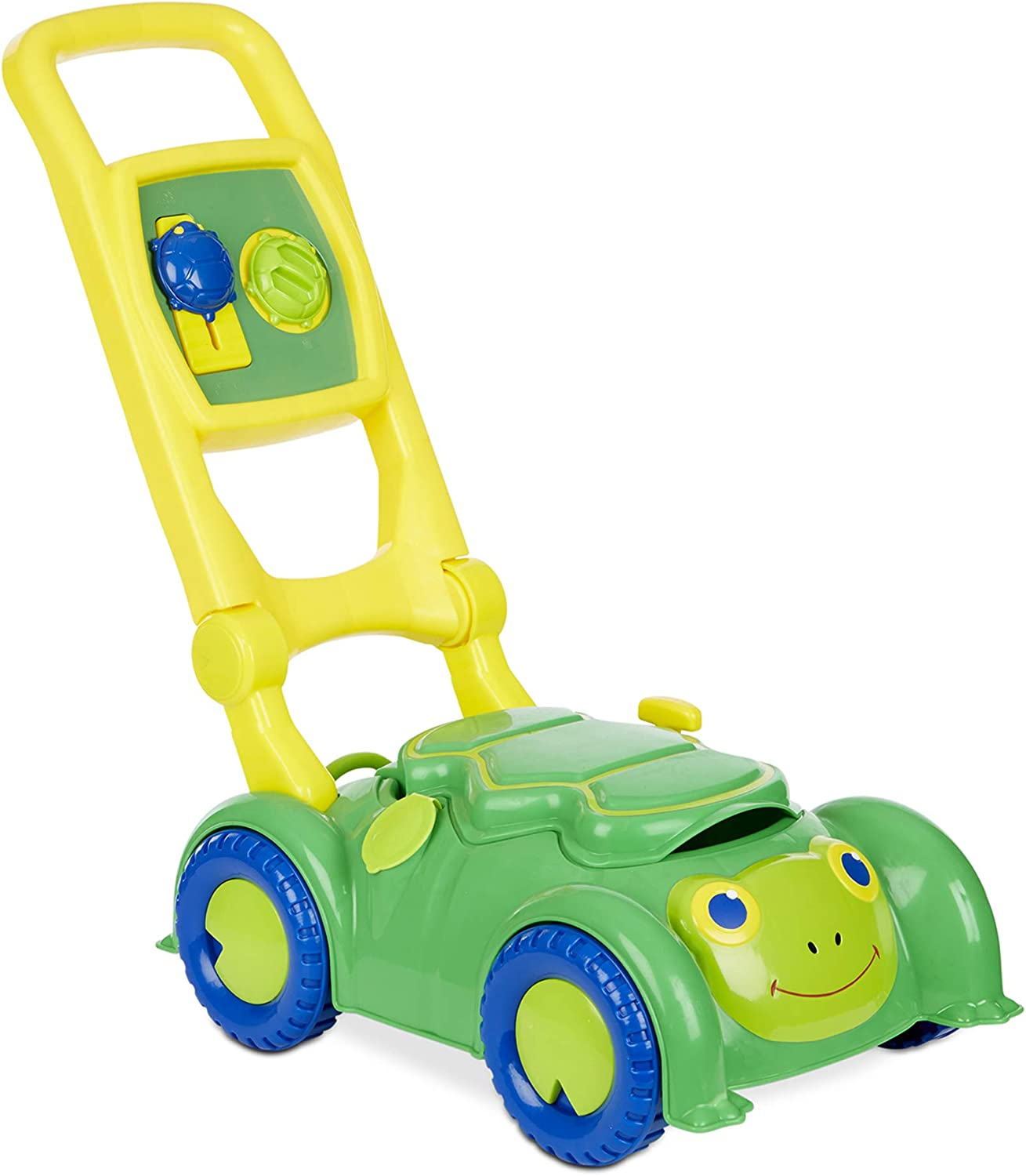 Melissa & Doug Sunny Patch Snappy Turtle Mower (Frustration-Free Packaging)
