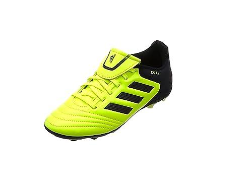 adidas Copa 17.4 FxG J, Botas de fútbol Unisex niños, Gris (Clear Grey/Footwear White/Onix), 36 EU: Amazon.es: Zapatos y complementos