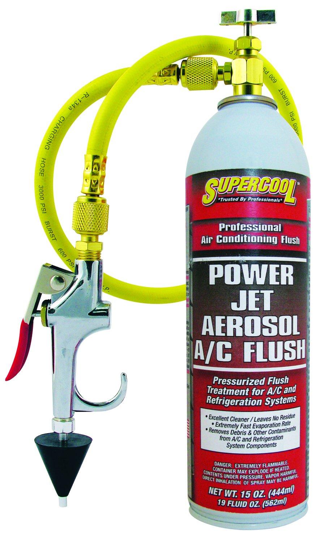 TSI Supercool 27637 Power Jet Aerosol A/C Flush, 15 fl. oz. by TSI Supercool
