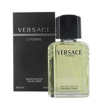 ea9d71dcf Versace l homme pour homme Eau de toilette 100 ml. Vaporisateur pour Lui  avec