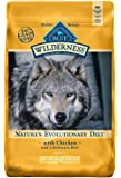 Blue Buffalo Wilderness High Protein Grain Free, Natural Adult Healthy Weight Dry Dog Food