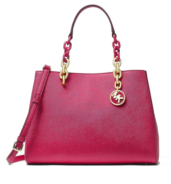 44c8f518b1cc ... sale michael michael kors cynthia saffiano leather medium convertible  satchel handbags amazon d6324 28b38 ...