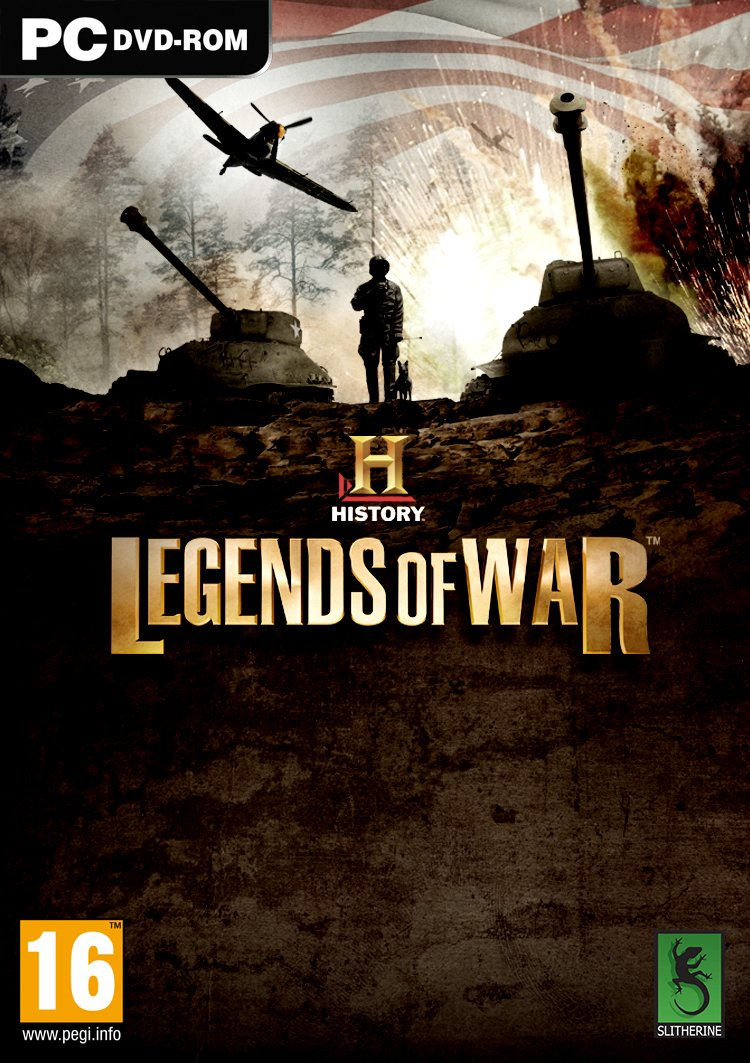 History Legends of War (PC DVD)