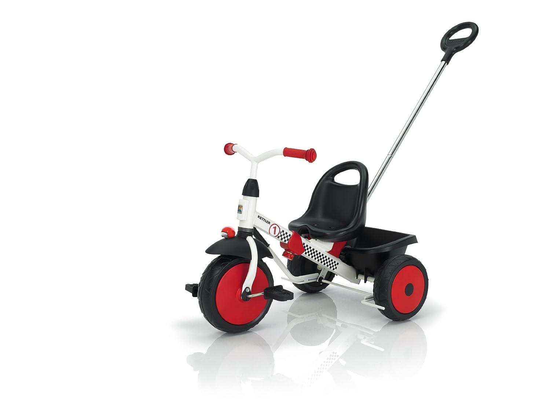 Kettler 8847-200 Happytrike Racing - Triciclo, color blanco y rojo [importado de Alemania]