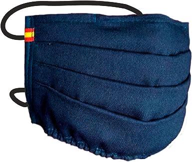 Mascarilla Azul Bandera España: Amazon.es: Ropa y accesorios