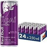 Energético Red Bull Energy Drink, Açaí, 250ml (24 latas)