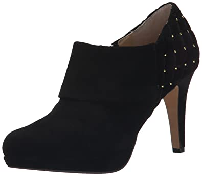 Adrienne Vittadini Footwear Women's Pelli Boot, Black Kid Suede, ...