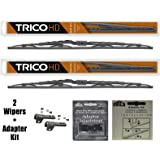 "2 Wiper Set - Trico 68-261 26"" HD Wiper Blades + B98999-146 Adapter Kit Fit Select RV Motorhomes - If Vehicle Not In Amazon Garage Verify Fitment at www.TricoProducts.com Before Purchasing"
