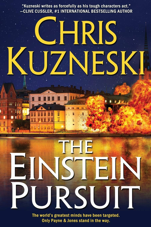 Ebook The Einstein Pursuit Jonathon Payne David Jones 8 By Chris Kuzneski