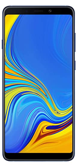 Samsung Galaxy A9 (Lemonade Blue, 6GB RAM, 128GB Storage) Smartphones at amazon
